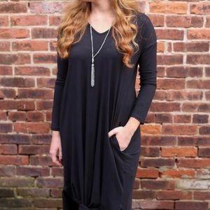NWT long sleeve maxi dress plus 🍀